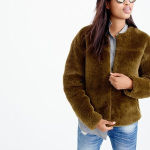 J.Crew teddy jacket